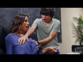 Учительница трахнула подростка в кабинете, boy school milf girl old tit boob sex porn fuck ass bang teen love HD (Hot&Horny)