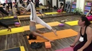 Advance Yoga Practice Hip opening Back Bend Twisting Handstand Headstand With Master Raja