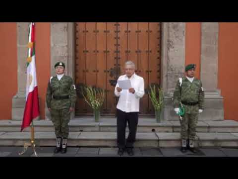Andres Manuel Lopez Obrador 19 Julio 2020 COVID 19 Mensaje