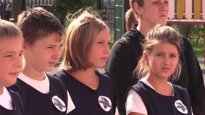 Впервые пятиклассники района посоревновались в военно спортивной игре Зарничка