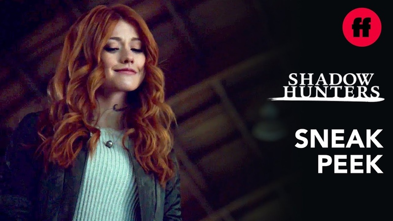 Shadowhunters Season 3, Episode 14 | Sneak Peek Clace On Ice | Freeform