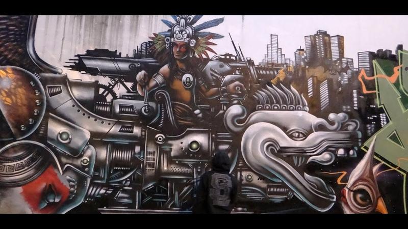 THE RETURN OF QUETZALCOATL GRAFFITI HYPER MTS E DALATA BH 2014