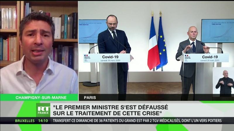 Conférence d'Edouard Philippe Le Premier ministre s'est défaussé sur le traitement de cette crise