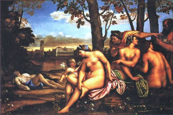 «Смерть Адониса», Себастьяно Дель Пьомбо 1512г. Холст, масло. Размер: 189x285 см. Галерея Уффици Флоренция В представленном полотне художник обратился к мифу об Адонисе, прекраснейшем юноше,