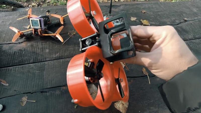 Обзор CineWhoop квадрокоптера Reptile CLOUD 149 для GoPro на английском языке от SEKILE
