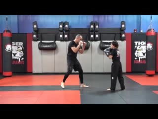 Martial Arts_Kickboxing All Ages - E2 - Advanced Partner - Shihan R. Schulmann