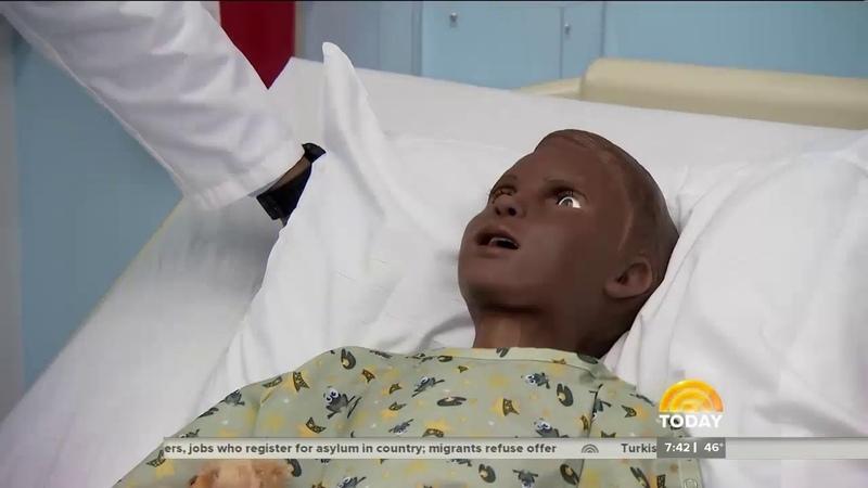 Gaumard's Pediatric HAL Trains Columbia Nursing Students Featured on NBC Today Show » Freewka.com - Смотреть онлайн в хорощем качестве
