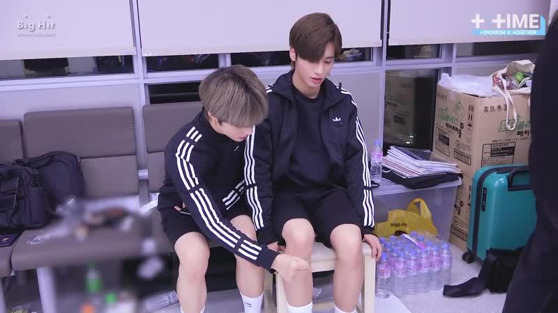 [T:TIME] TAEHYUN's knee-jerk reflex experiment - TXT (투모로우바이투게더)