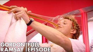 Gordon Ramsay Tries To Drink A Yard of Ale | The F Word Full Episode