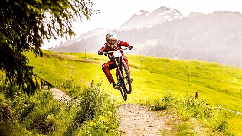 Aaron Gwin´s day off