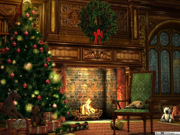 Рождественские Обои HD На Рабочий Стол