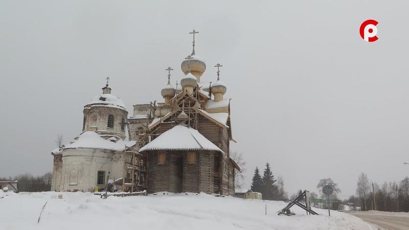 Уникальный храм отреставрировали в Вытегорском районе