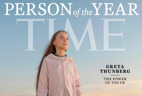 "Time назвал Грету Тунберг ""Человеком года"""