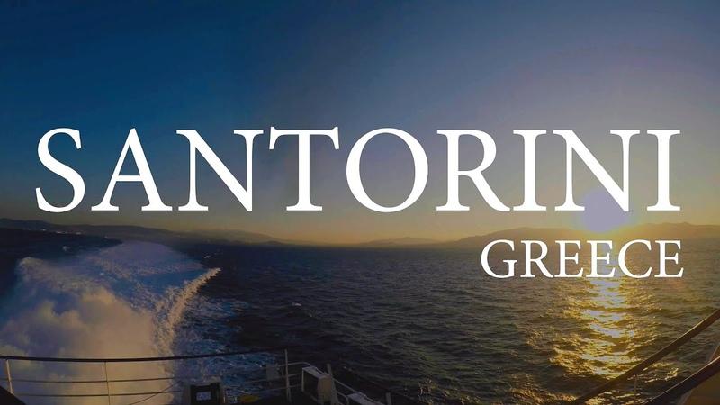 SANTORINI, GREECE 4K | ОСТРОВ САНТОРИНИ С ВЫСОТЫ ПРТИЧЬЕГО ПОЛЕТА