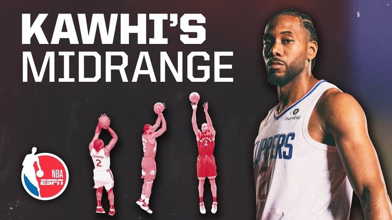 Kawhi Leonards midrange pull-up is a Kobe Bryant-Michael Jordan throwback | Signature Shots