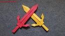 ORIGAMI - Gấp Cây Kiếm Bằng Giấy || Origami Sword
