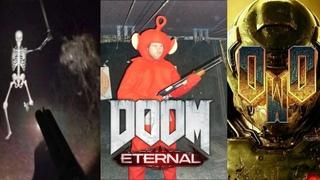 3 minutes and 36 seconds of stolen Doom Eternal memes.