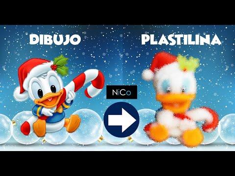 Donald duck | Porcelana fría ° Clay Art Tutorial