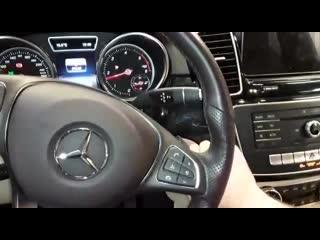 Установка противоугонной системы на автомобиль Mercedes Benz в Авто Ателье АврорА Спб