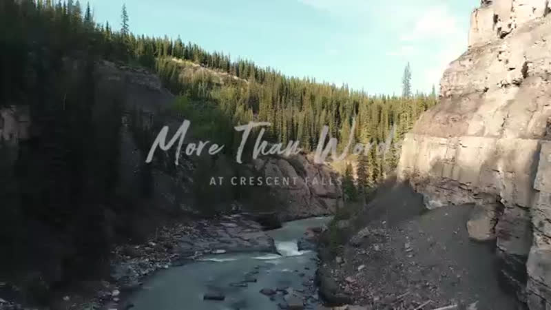 More Than Words Music Travel Love Crescent Falls Alberta Canada