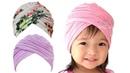 Criss-Cross Turban Hat Baby - Twisted Turban Hat Sewing Pattern