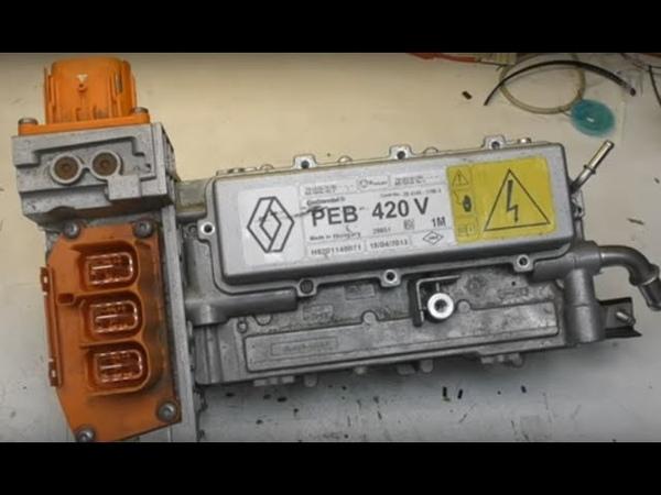 Renault Zoe EV inverter PEB