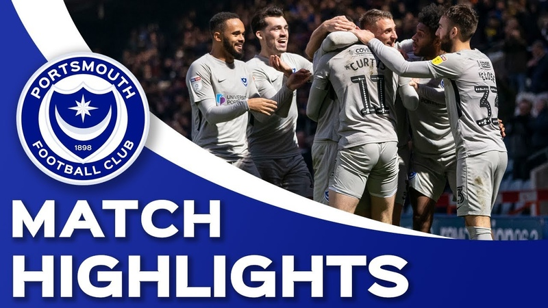 Highlights Rochdale 0 3 Portsmouth