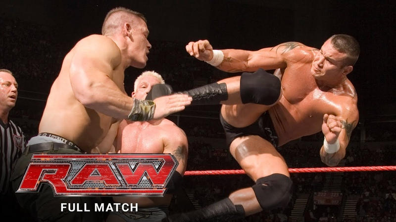 FULL MATCH Batista Michaels Cena Undertaker vs Edge Orton MVP Kennedy Raw Feb 15 2007