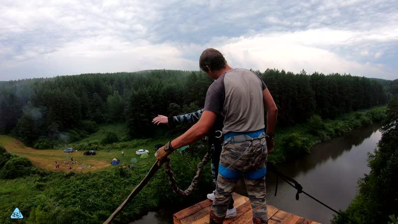 41 - Белый Камень (20-21 июля) No Angels Team/ Прыжки с веревкой на Урале