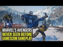 Marvel Avengers Game - NEVER SEEN BEFORE Gameplay Shows Suits, Enemies More (The Avengers project)
