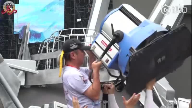 Подготовка каскадеров к закрытию 5-го международного кинофестиваля Неделя экшн-фильмов Джеки Чана
