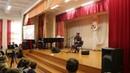 Лидер группы J:МОРС Владимир Пугач выступил в родной школе в Пинске