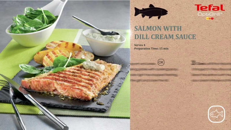 Tefal Optigrill Fish Programme