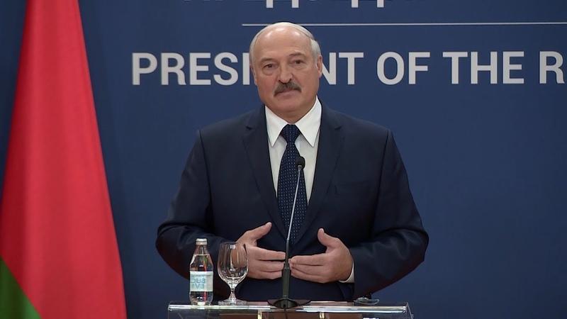 Желаем достойно пройти этот путь Лукашенко поддержал стремление Сербии вступить в ЕС