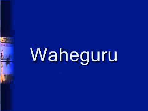 Waheguru Simran Wonderful smoothing Simran It's simply very calm relaxing