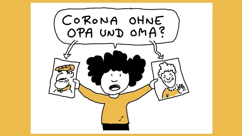 Corona ohne Opa und Oma Ellis kleine Corona Kunde Planet Schule SWR