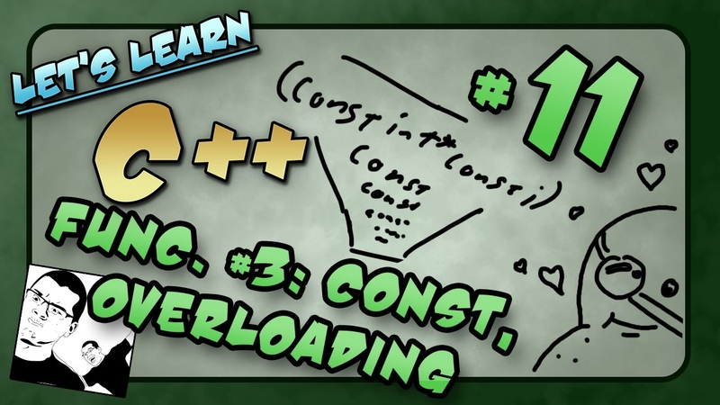 Lets Learn C ~ Basics 11 of 14 ~ Functions p3 Const, PrePost Conditions