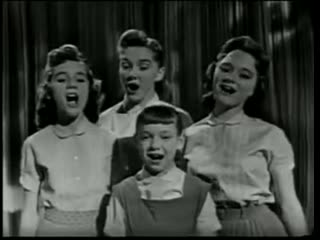 The Lennon Sisters - Tonight You Belong To Me (1958)
