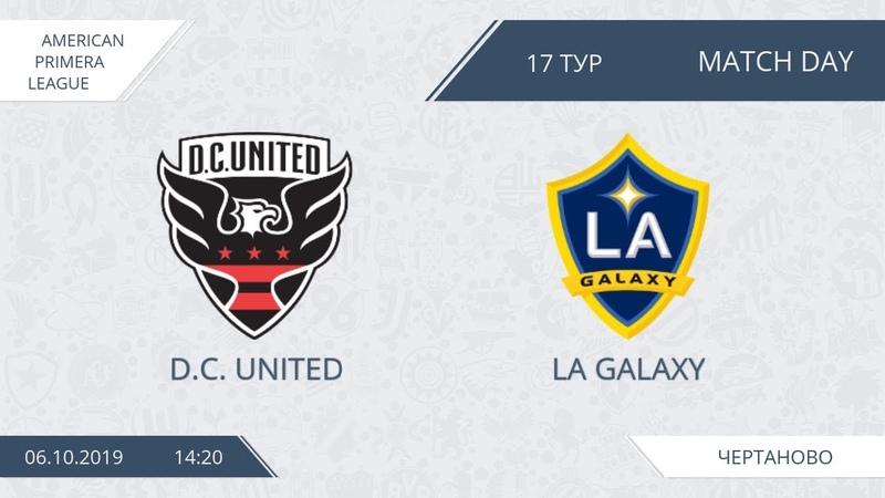 AFL19. America. Primera. Day 17. D.C. United - La Galaxy.