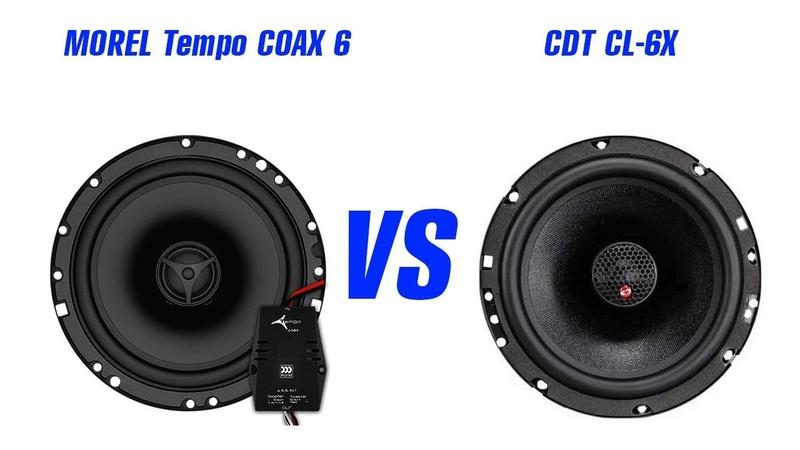CDT CL 6X vs MOREL Tempo Coax 6