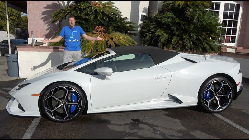 Lamborghini Huracan Evo 2020 года это улучшенный Huracan