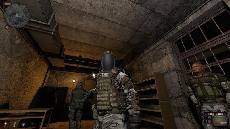 Обзор игры S.T.A.L.K.E.R. - Call of Chernobyl 1.4.22 v.5.04 прогулка по центральной Припяти