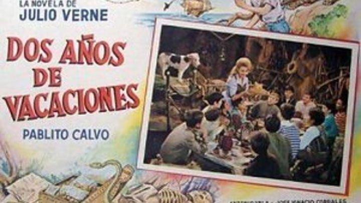 Cine Español Aventuras Dos años de vacaciones *1962*