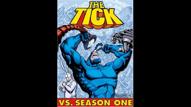 Тик герой The Tick 1 й сезон сериал 1994 1997
