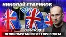 Николай Стариков о выходе Великобритании из Евросоюза Brexit