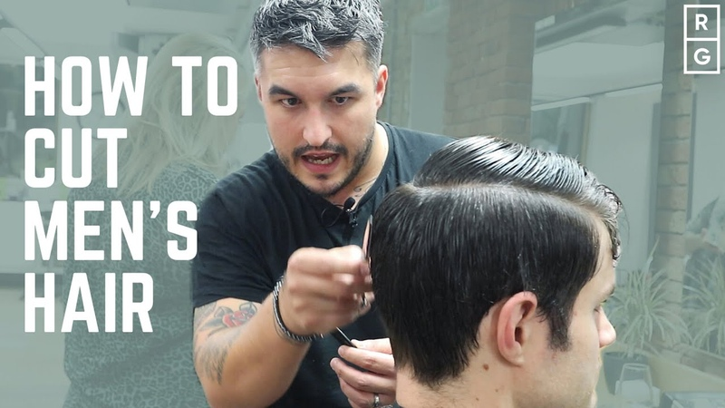 How To Cut Men's Hair FULL HAIRCUT TUTORIAL Classic Simple Barbering Techniques