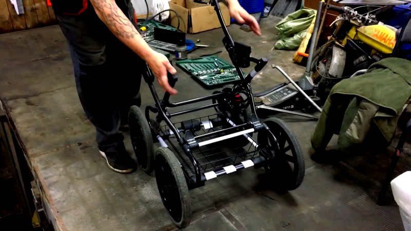 Апгрейд детской коляски