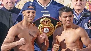 Kal Yafai vs. Roman 'Chocolatito' Gonzalez • FULL WEIGH IN & FACE OFF • Matchroom Boxing USA