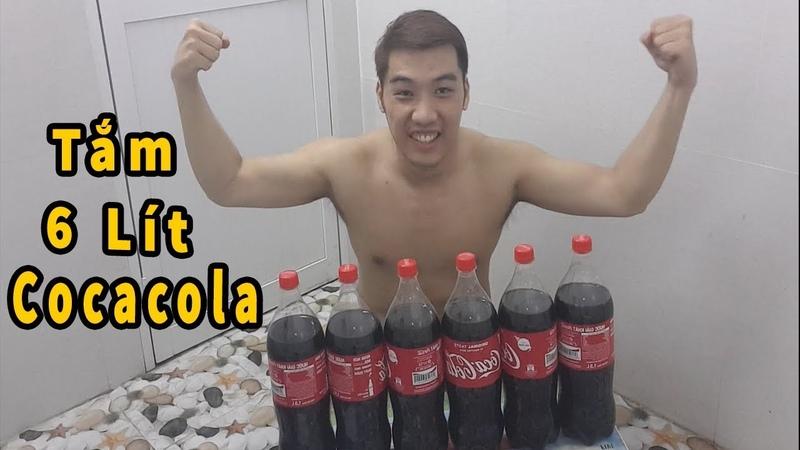 Tắm 9 Lít Cocacola ( Coca Cola Bath )