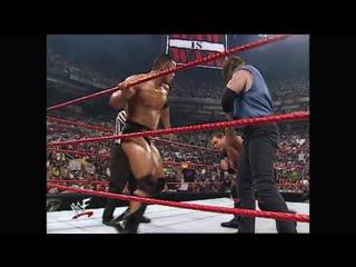 WWF Raw Is War  - Kane & Chris Benoit vs the Rock & Undertaker
